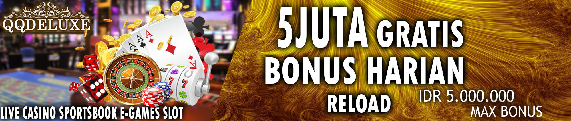 bonus terbesar judi online resmi